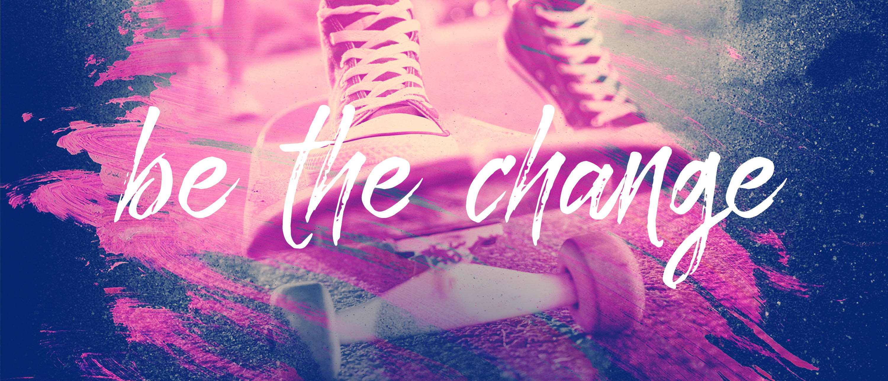 be the chnage2